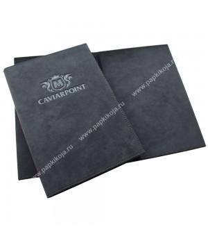 Папки меню из алькантары