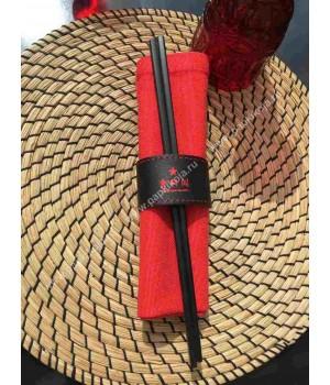 Кольца для салфеток кожаные