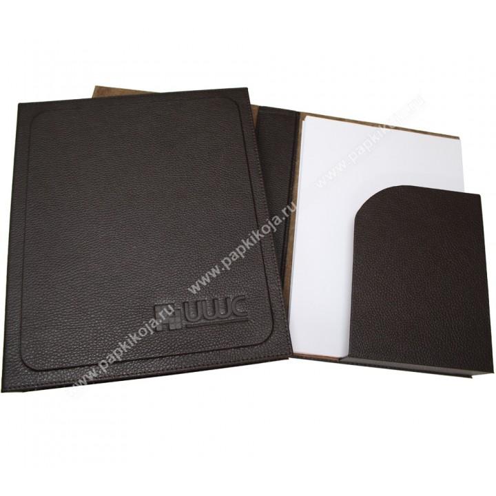 Папка для бумаг с карманом