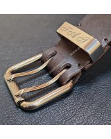 Кожаный ремень ручной работы.
