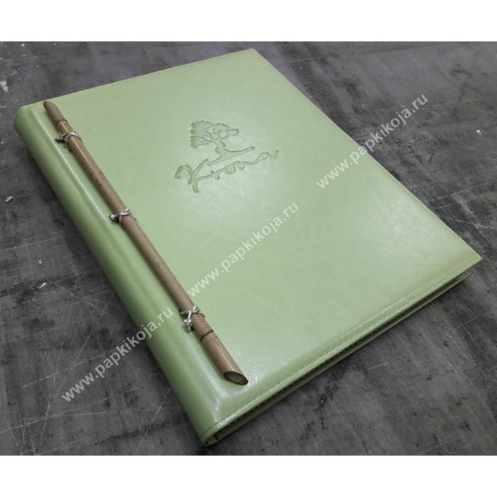 Папка с бамбуком.